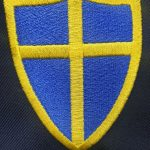 Blue coat badge