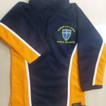 blue coat rugby top