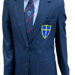 blue coat blazer new