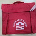 clifford bridge bookbag new