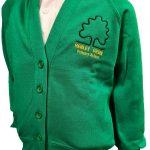 henley green cardigan