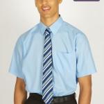 boys short sleeve blue