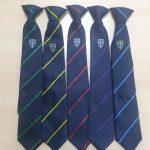 Blue coat group ties
