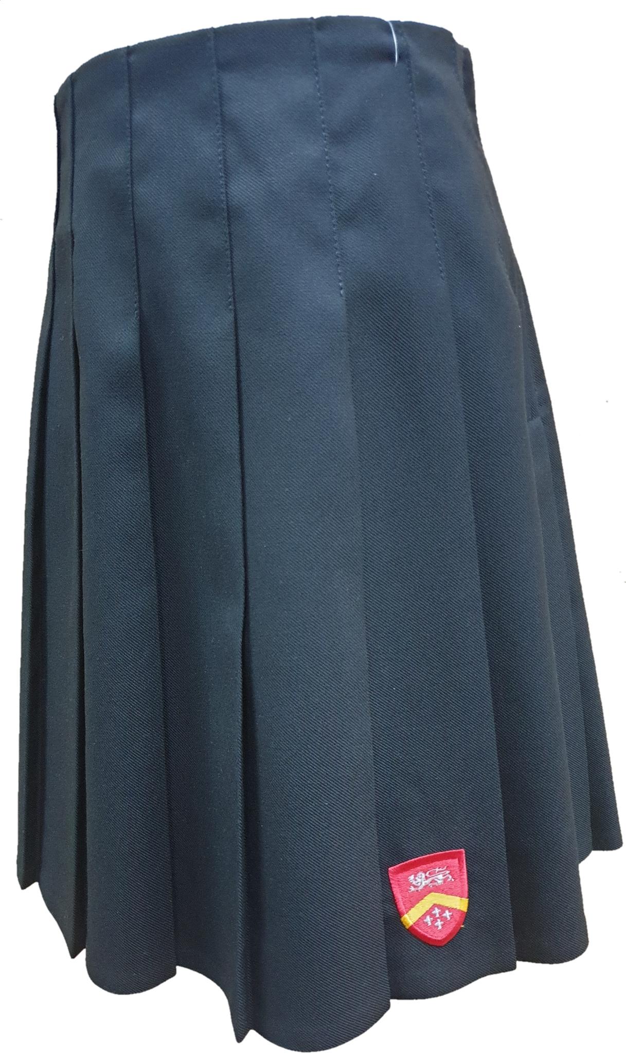 Caludon Pleated skirt