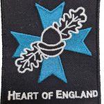 heart of england badge